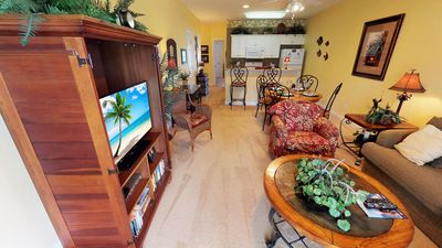 Photo for Tranquil Golf Views, Less than 1.5 mi to Beach, Includes WiFi, Parking, Pools & Amenities!