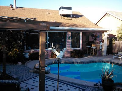 pool arizona room and outdoor barbeque