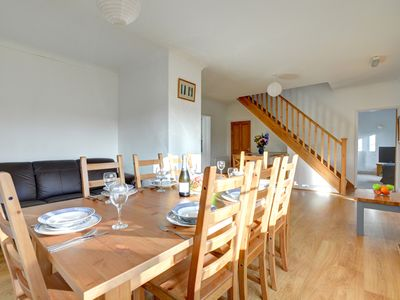 Photo for Dirleton is a spacious property with views over Saundersfoot village. With the beach, shops and rest