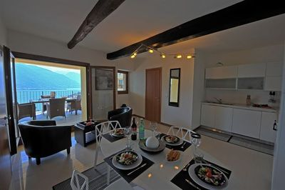 Living room with acess to the balcony
