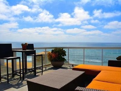 Photo for Breathtaking Ocean Front Pacific Beach Apt.