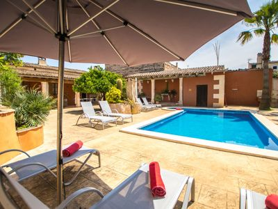 Photo for Vacation home Son Verd  in María de la Salut, Mallorca - 10 persons, 5 bedrooms