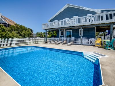 Photo for Three Tymes A Charm | 2325 ft from the beach | Private Pool