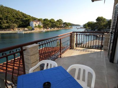 Photo for Studio flat with terrace and sea view Pasadur (Lastovo)