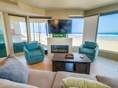 Photo for ☀️ UNMATCHED LUXURY 🌅 Panoramic Ocean Front Condo w/ Luxury Amenities, BBQ, Parking!