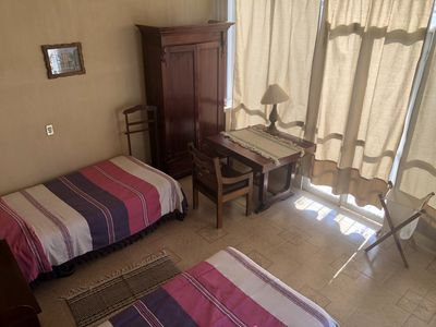 Photo for double room with beautiful terrace and living room / double room in the center