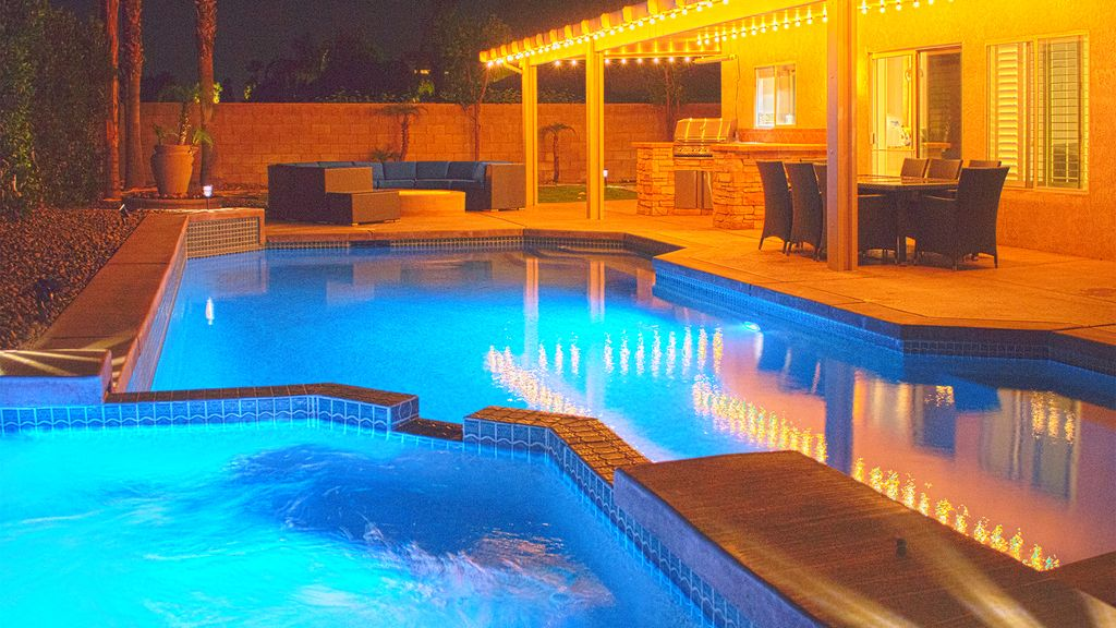 New La Quinta Luxury Retreat Saltwater Pool Game Room