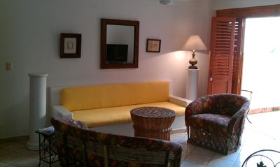 Photo for Ladera Apartment---Quiet, secluded apartment, steps from Los Muertos Beach