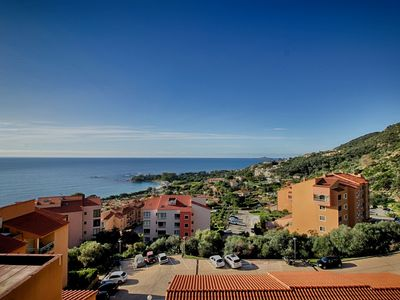 Photo for AJACCIO stanging apartment facing the beach of Marinella F3-232