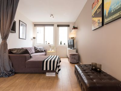 Photo for Bright and basic one bedroom apartment, perfect for a couple, in the heart of the centre of Amsterda