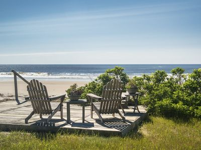 Photo for This lovely Old World home that sleeps 8 is directly on Parsons beach making it one of the best vaca