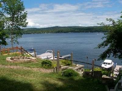 Photo for Waterfront House on Honeoye Lake