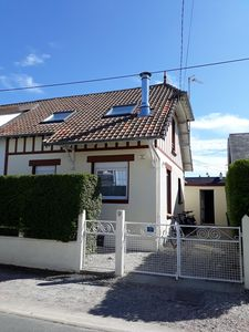 Photo for AGON-COUTAINVILLE Charming house 300m from the sea and the center. Free WIFI