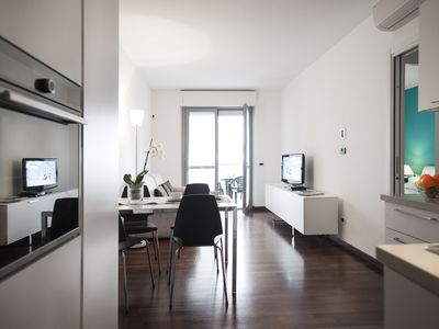 Photo for One-bedroom apartment in a new building near Corso Sempione in Milan