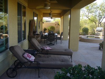 Photo for Gorgeous desert/golf course views in a comfortable home with modern conveniences