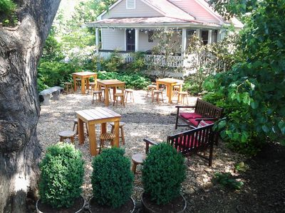 Photo for Cottage on Brewery Property, Walking Distance to Everything in Sperryville