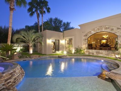 Photo for Luxury Villa in Rancho Mirage - Walking Distance to The River & Festival Shuttle