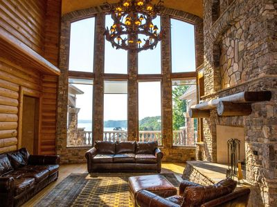 Photo for Luxury Chateau With Soaring Views Over Lake Lanier - 18,000 Sq Ft