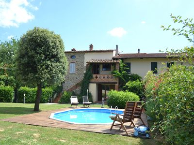 Photo for Cozy Holiday Home in Arezzo Italy with Pool