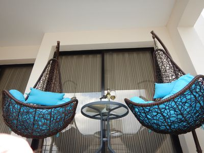 Photo for Spacious, newly furnished two bedroom apartment, 200 meters from the beach.