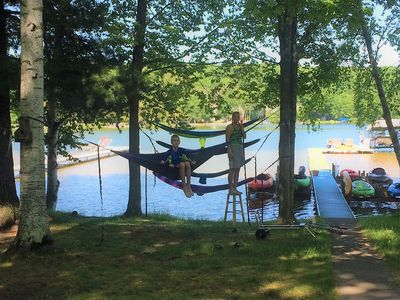 Photo for Beautiful Waterfront cottage on Lake Ann 3 bedroom 2 bath: Sleeps 10