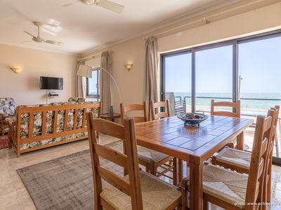 Photo for Apartment with fantastic sea view only 20m from the beach