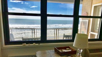 Photo for Directly on the Ocean! Organic + Upscale + Balcony + King Bed + Views