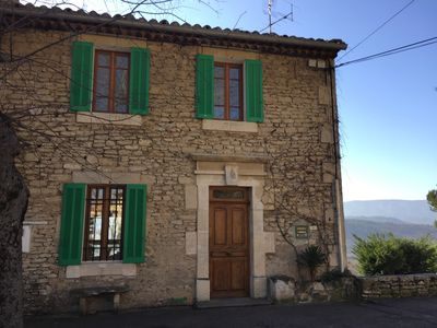 Photo for Charming Provencal house in the heart of the village.