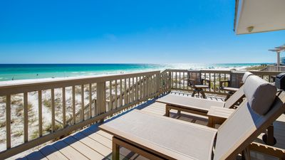 Photo for 30A Beachfront Home! Wake Up to the Gulf!
