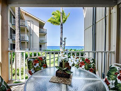 Photo for True Ocean Front Condo On The Ground Floor