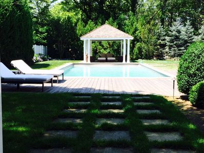 Photo for Luxury 4 Bdrm Home. Heated Pool. Close To Beach & Town.