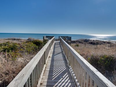 Photo for **FOUR NIGHT STAYS THRU JUNE 8th**Lovely Oceanfront Family-friendly duplex