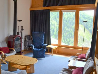Photo for Outside : luxury modern apartment on top floor of a chalet, for 6-8 persons, balcony-terrace, beauti