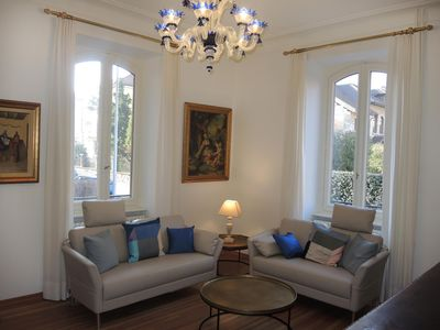 Photo for Stylish old town apartment in a top location in the Ticino capital - ideal for a