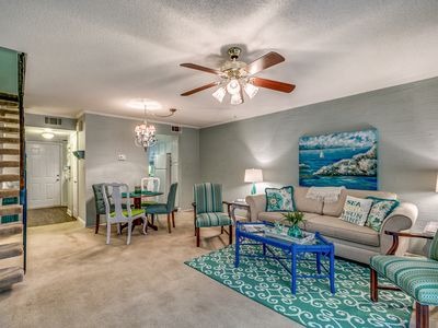 Photo for Vacation Rental, Large 2-BR, 1.5-BA Townhome, Steps to the Atlantic