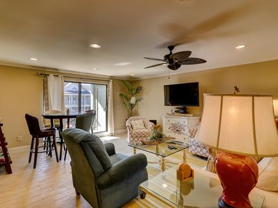 Photo for Upgraded family-friendly condo w/ golf on-site & 2 king bedrooms w/private baths