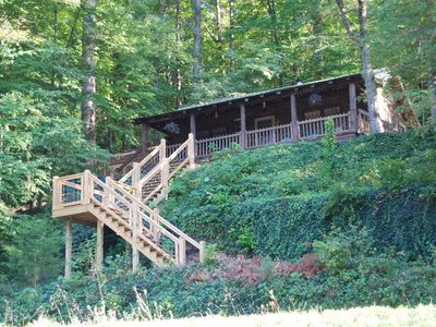 Photo for Cedar Cliff Beach Cabin - Tuckasegee, NC - Near WCU!