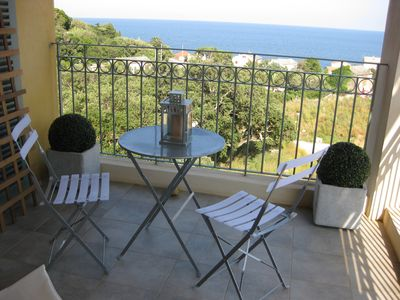 Photo for Luxury apartment in a fishing village of Cap Corse.