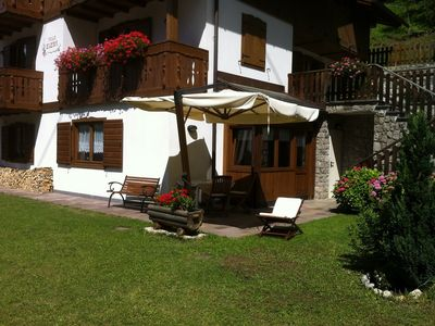 Photo for Holidays in Villa Elena Dolomites Alleghe-Italy