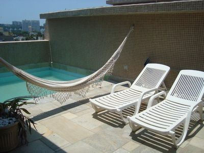 Photo for terrace with pool New Year's Eve and high season
