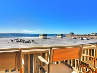 Photo for Ocean Views and Steps to the Sand!