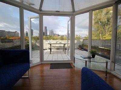 Photo for Amazing views! Top Floor Apartment with Balcony