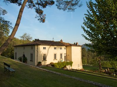Photo for 17th century villa set in charming gardens with pool ideal for families & friend