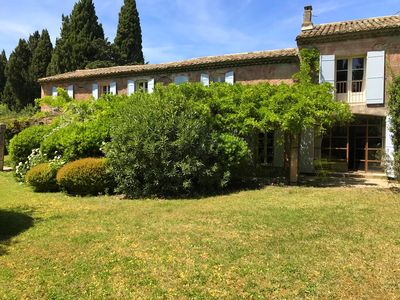 Photo for NEW: Superb provencal farmhouse renovated, sleeps up to 12