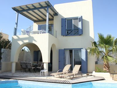 Photo for Fabulous Sea Front Villa, Private Pool, Stunning Sea Views