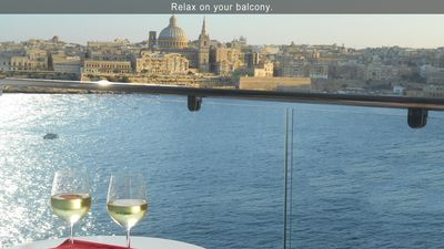 Relax on your balcony.