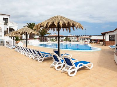 Photo for Nice apartment to the side golf course with pool, internet, TV in many languages