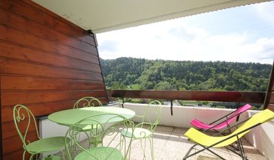 Photo for LE MONT DORE - Studio with wifi - balcony / terrace