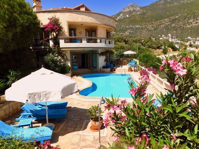 Photo for 3 Bedroom Villa With Private Pool & Fantastic Sea & Mountain Views