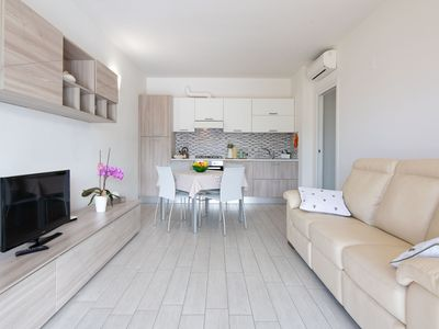 Photo for Modern Holiday Apartment in Residence with Wi-Fi, Air Conditioning and Pool